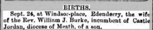 Kings County Chronicle 29 September 1869