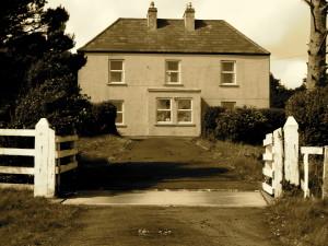 Emily's original house on Achill