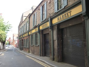 Back Lane where the Graisberry's had their printing business