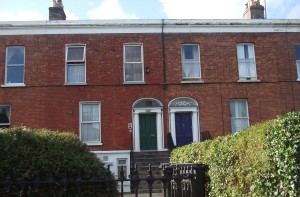 No 40/41 Leinster Road, Rathmines, where Emily McArthur lived before she married,