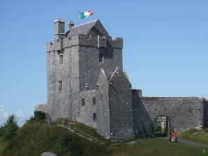 Dunguire Castle, Kinvara. Hometown to William John Burke
