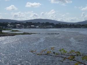 Kinvara Bay, where William John Burke lived as a child