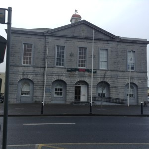 The courthouse in Edenderry, stands exactly like it did when Emily's family lived there