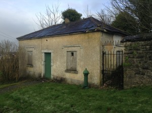 A ruin of an old school in Edenderry , that Emily's brothers may have attended