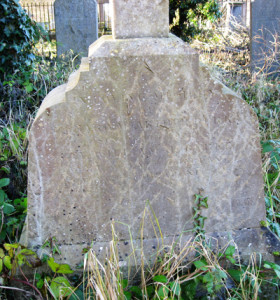 Richard Burke's Headstone. Retrieved from: http://www.clonmelgraveyards.com