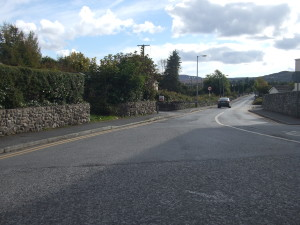 The site where the fever hospital in Oughterard one stood