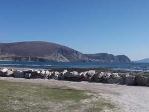 A beautiful spring day on Achill just like the one Darrell Figgis describes in 1916