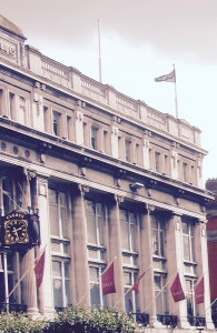 Clearys of O'Connell Street, seen from the GPO