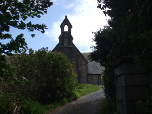 St Thomas' Church on the Achill Mission Estate