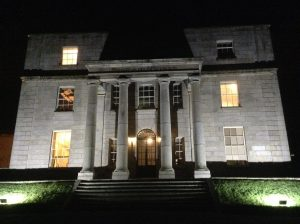 Pearse Museum at night